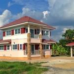 Review : สร้างบ้านสองชั้นสไตล์ร่วมสมัย จากแบบบ้าน กทม. ในงบประมาณ 2.7 ล้านบาท