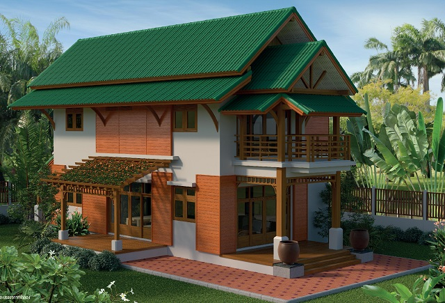 2 storey contemporary thai 3 bedroom house (1)