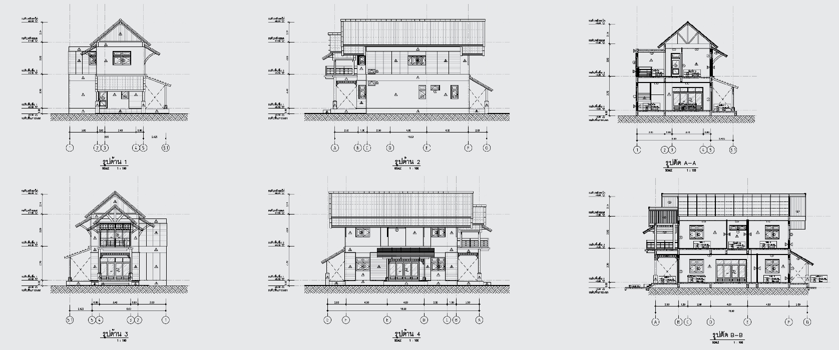 2 storey contemporary thai 3 bedroom house (5)