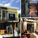 Review : บ้านทาวน์โฮมสองชั้น ตกแต่งสไตล์ลอฟท์ ให้บรรยากาศเหมือนร้านกาแฟ