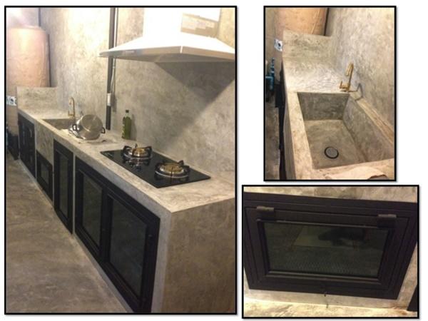 2.4x5 townhome concrete kitchen review (26)