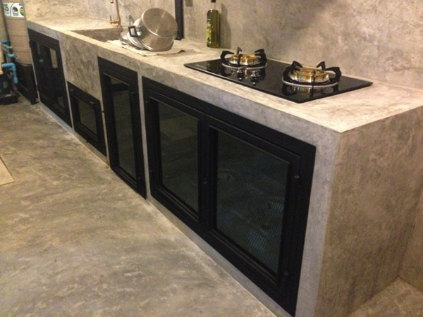 2.4x5 townhome concrete kitchen review (28)