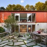 แบบบ้านจากตู้คอนเทนเนอร์ 22 รูปแบบ สวยงามในดีไซน์และสีสัน เหมาะกับทำเป็นออฟฟิศ บ้านตากอากาศ รีสอร์ท