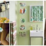 24 ไอเดีย DIY พื้นที่จัดเก็บของใช้ในห้องน้ำขนาดเล็ก สวยงาม ได้ประโยชน์ และง่ายต่อการใช้งาน