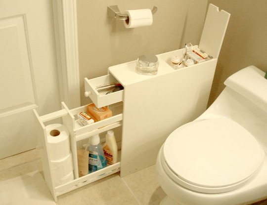 24 most easiest diy storage idea small bathroom (5)