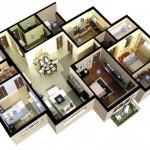 แจกฟรี!! 25 แบบแปลน บ้านขนาด 3 ห้องนอน ลงตัวทุกมุมมองของการออกแบบ