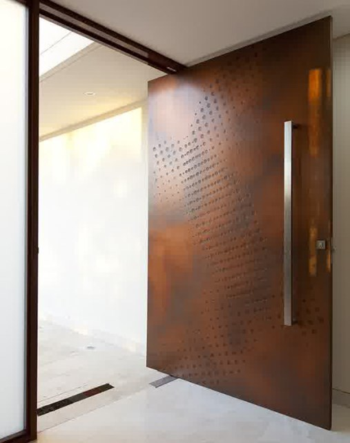 25 modern-front-door-with-wood-accents (4)