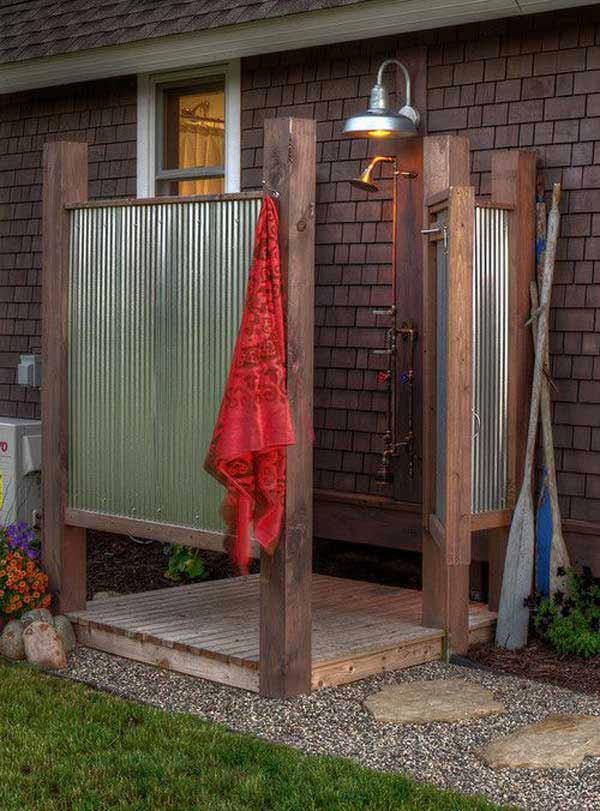 30 outdoor shower ideas (16)