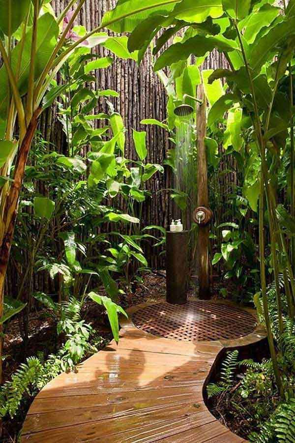 30 outdoor shower ideas (30)