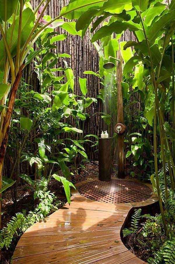 30 outdoor shower ideas (30)