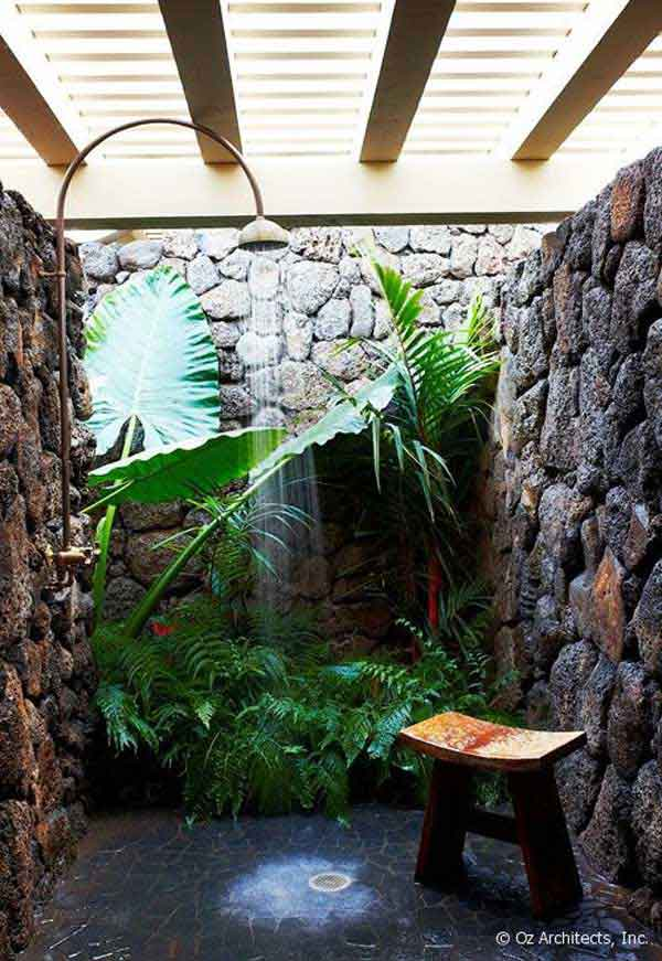 30 outdoor shower ideas (8)