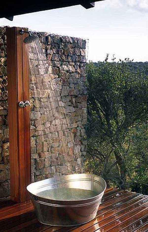 30 outdoor shower ideas (9)