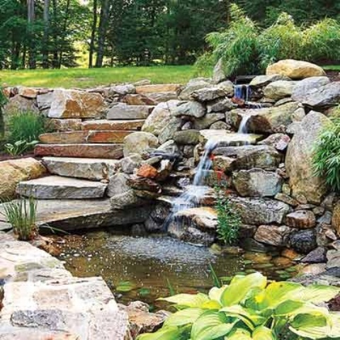 53 backyard pond ideas (12)