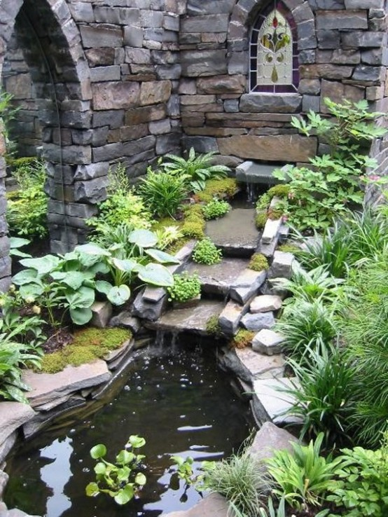 53 backyard pond ideas (14)