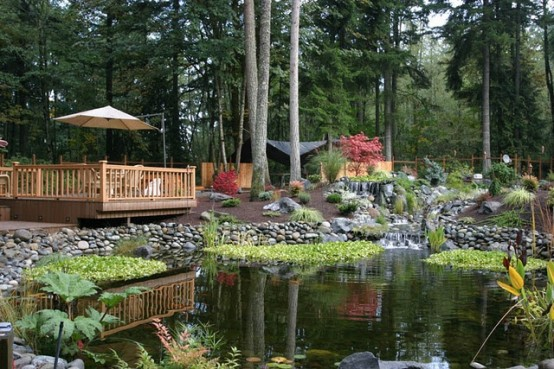 53 backyard pond ideas (17)
