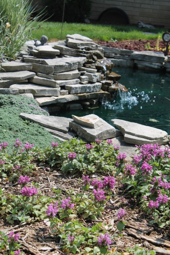 53 backyard pond ideas (19)