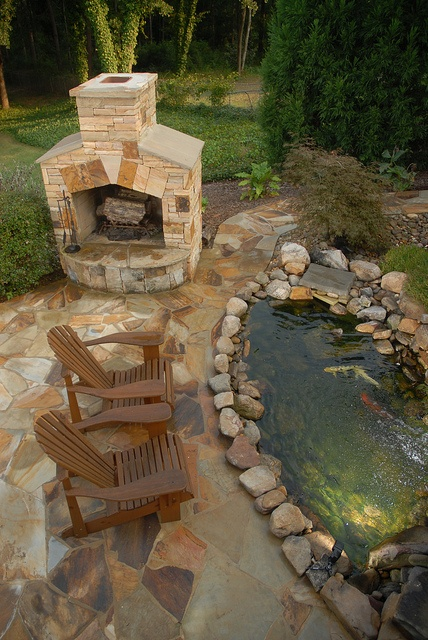 53 backyard pond ideas (24)