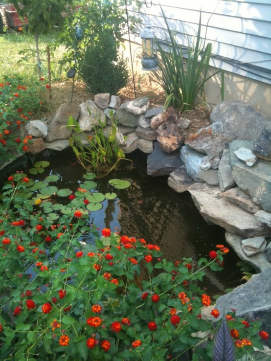 53 backyard pond ideas (26)