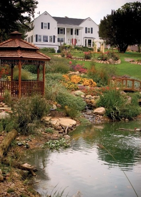 53 backyard pond ideas (3)