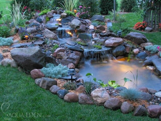53 backyard pond ideas (30)