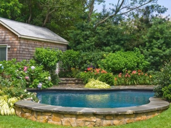 53 backyard pond ideas (4)