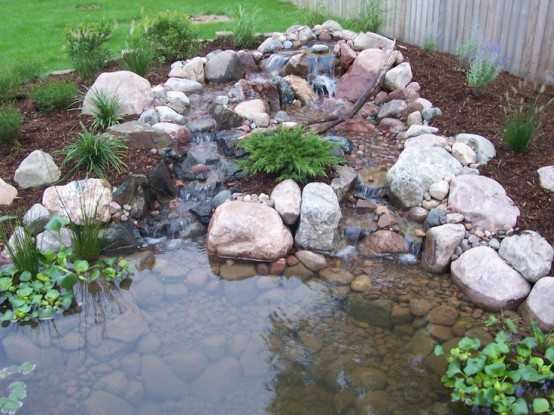53 backyard pond ideas (49)
