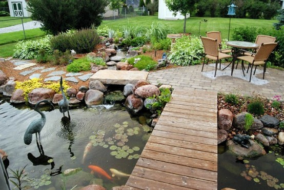 53 backyard pond ideas (5)