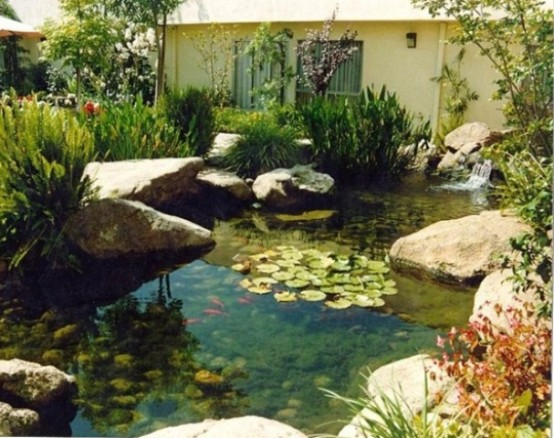 53 backyard pond ideas (52)