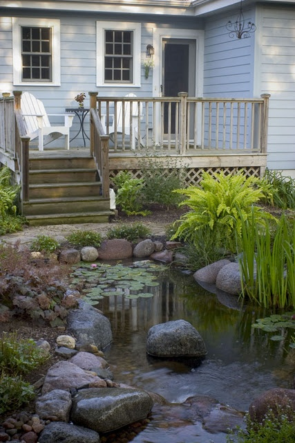 53 backyard pond ideas (6)