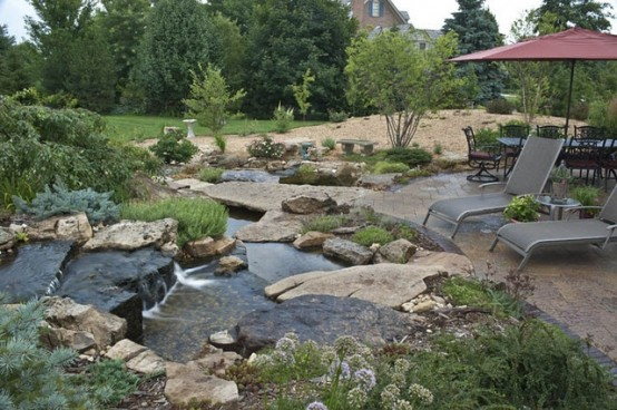 53 backyard pond ideas (9)