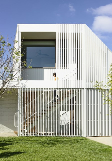 Modern Home white battens (10)