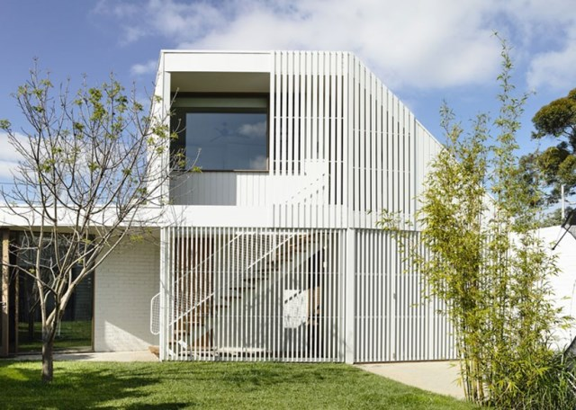 Modern Home white battens (9)