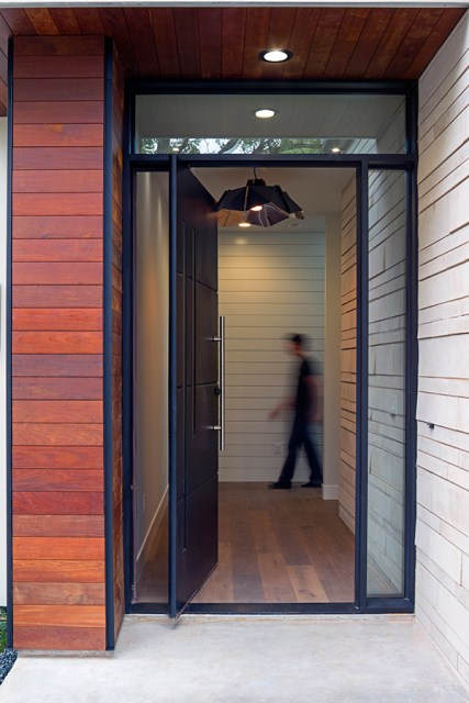 Modern contemporary home Minimalist colors (3)