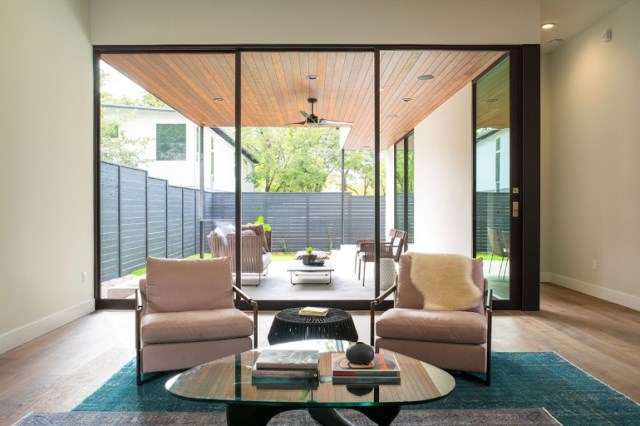 Modern contemporary home Minimalist colors (8)