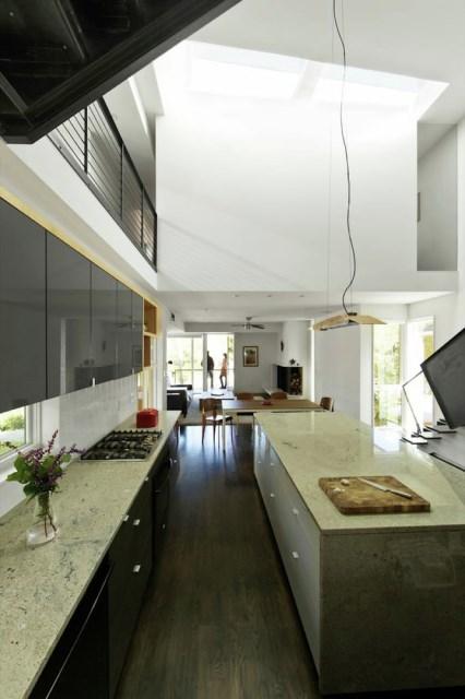 Modern house modern shape mixing materials (1)