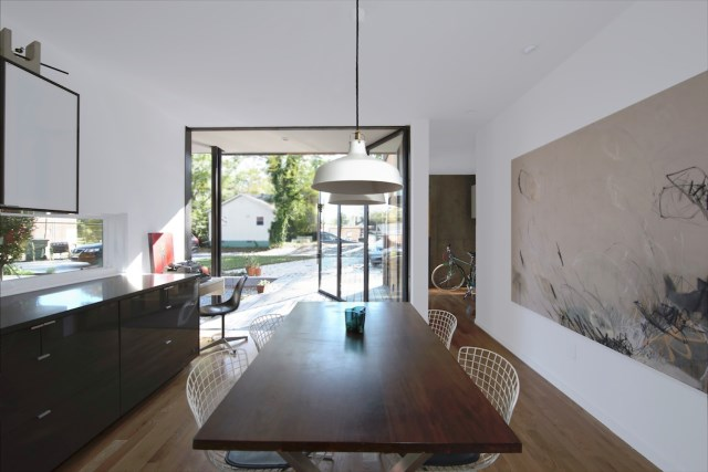 Modern house modern shape mixing materials (15)