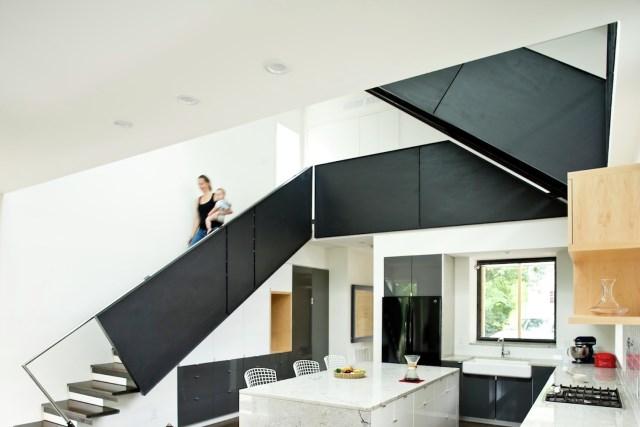 Modern house modern shape mixing materials (19)