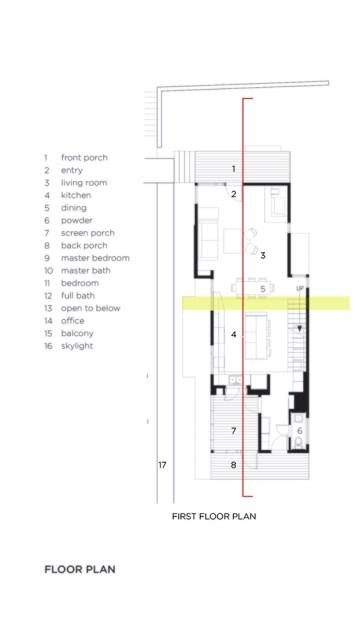 Modern house modern shape mixing materials (6)