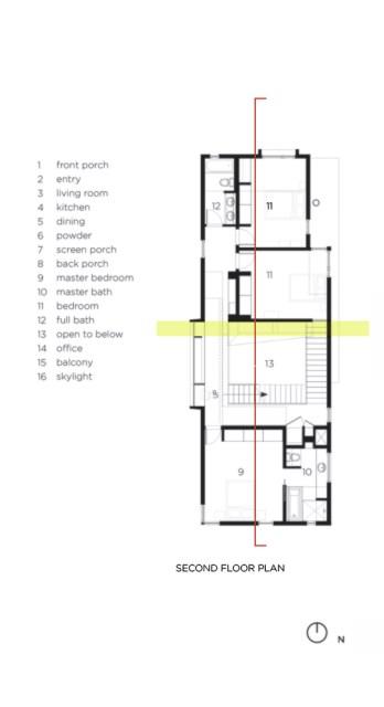 Modern house modern shape mixing materials (7)