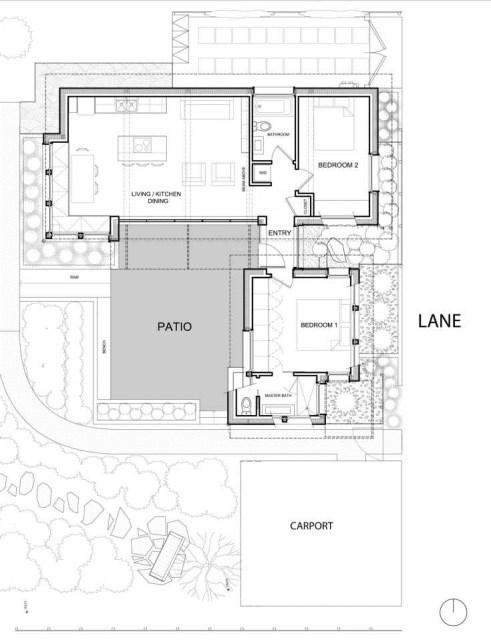 Modern houses 2 bedrooms 2 bathrooms and garden (1)