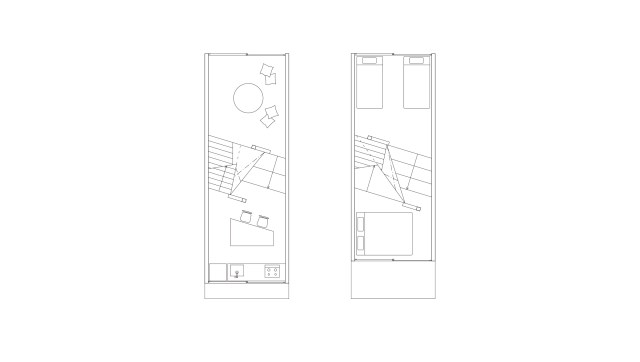 Narrow House with frosted glass (15)