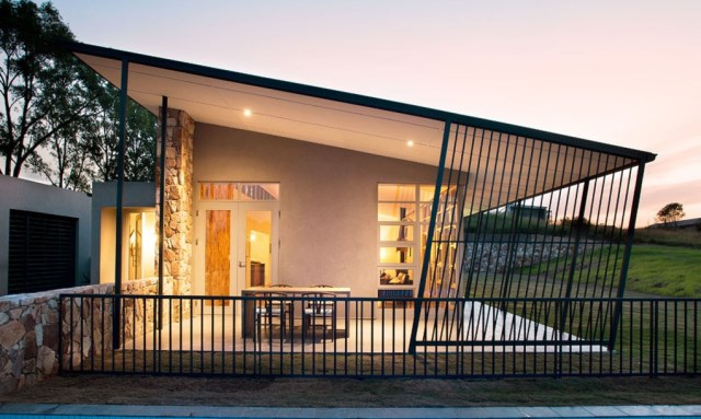 Small House Modern style With large terrace (9)