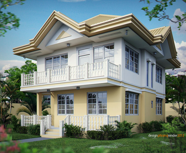 Two-story house Contemporary (4)