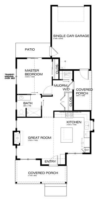 bungalow house 1-bedroom-1-bathroom (4)