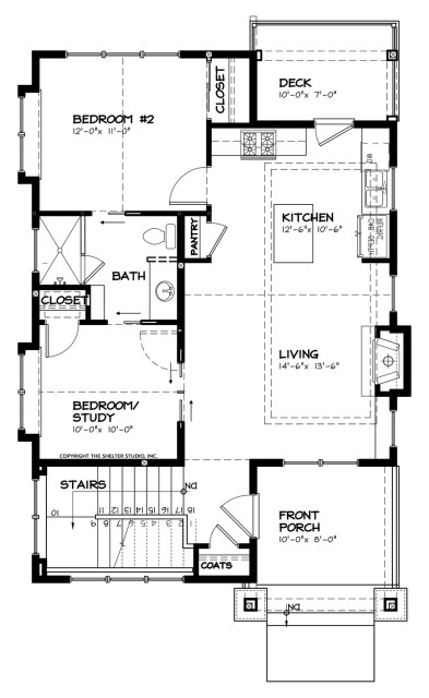 bungalow house 2-bedroom 1-bathroom (3)