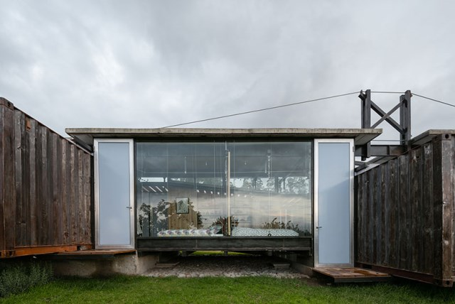 container Modern house INDUSTRIAL style (1)