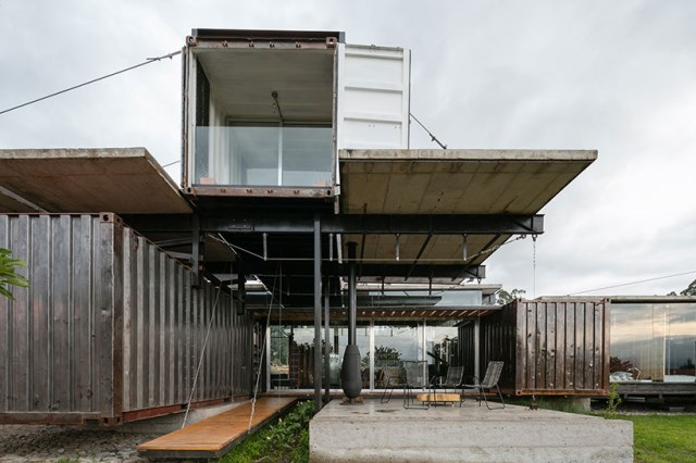 container Modern house INDUSTRIAL style (2)
