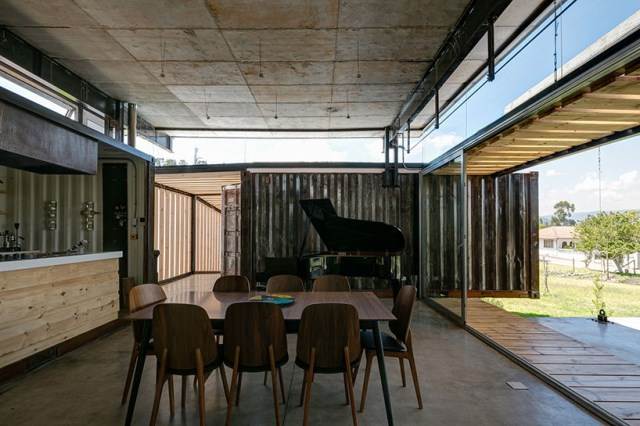 container Modern house INDUSTRIAL style (3)