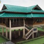 แบบบ้านทรงใต้ถุนสไตล์ไทยประยุกต์ ดั้งเดิมและเรียบง่าย มีกลิ่นอายบ้านไทยโบราณ