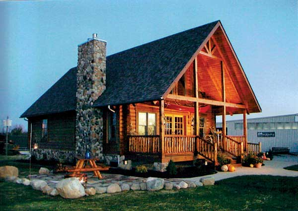 country gable log cabin (1)